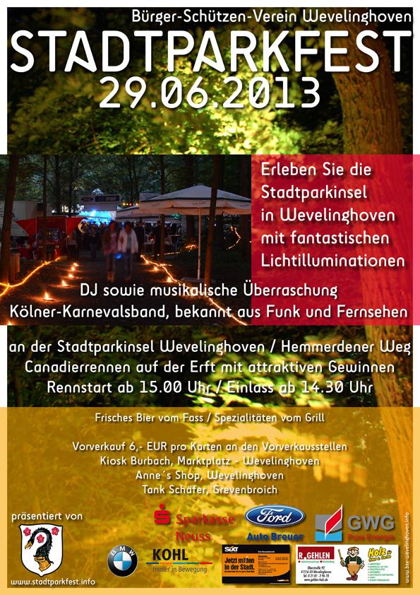 Stadtparkfest 2013
