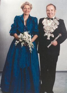 Königspaar Schäpers