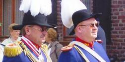 Oberst und Adjudant