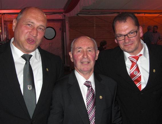 Oberstehrenabend Ralf, Hubert + Rolf