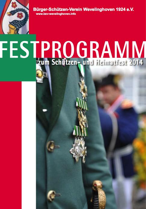 Titel Festprogramm 2014