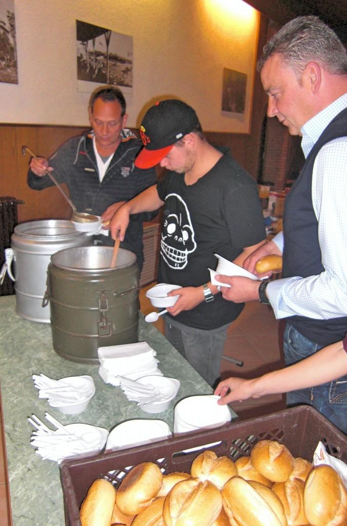 Suppe fassen 2
