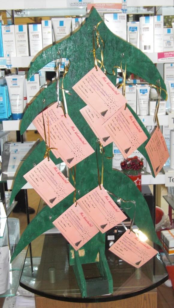 Weihnachts-Wunschbaum