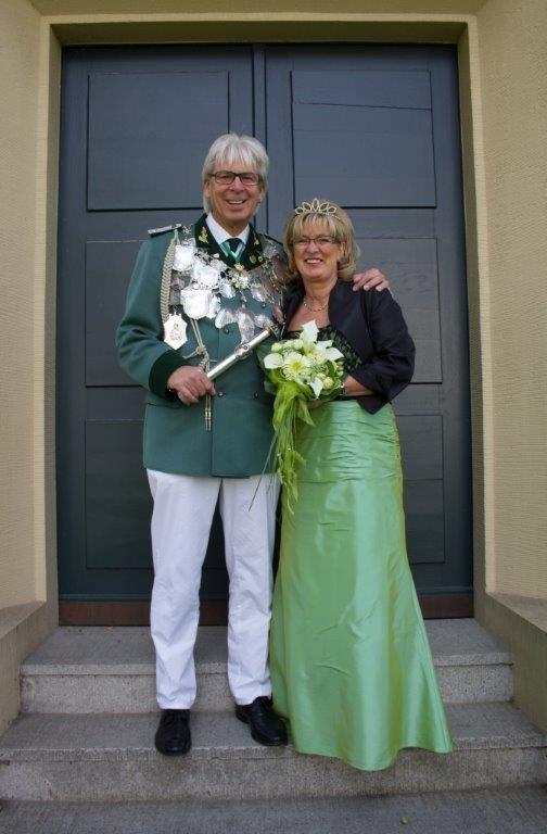 Königspaar Georg I. und Petra Staniek
