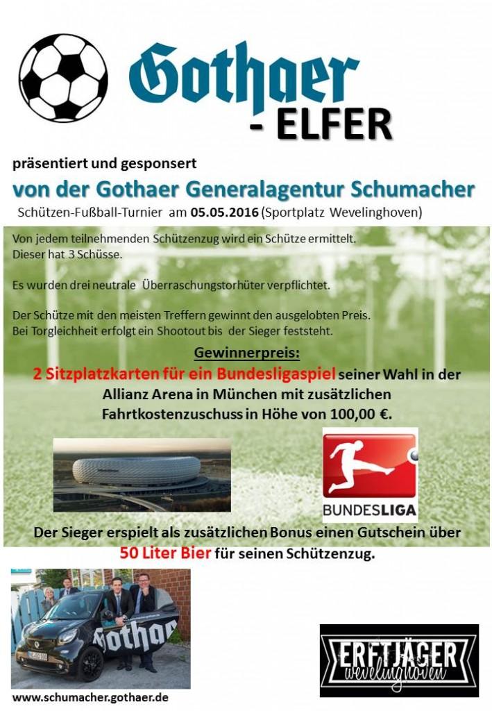 Gothaer Elfer 2016 - Plakat