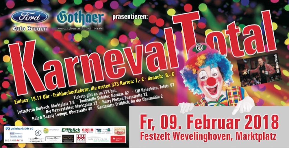 Karneval Total 2018 Wevelinghoven