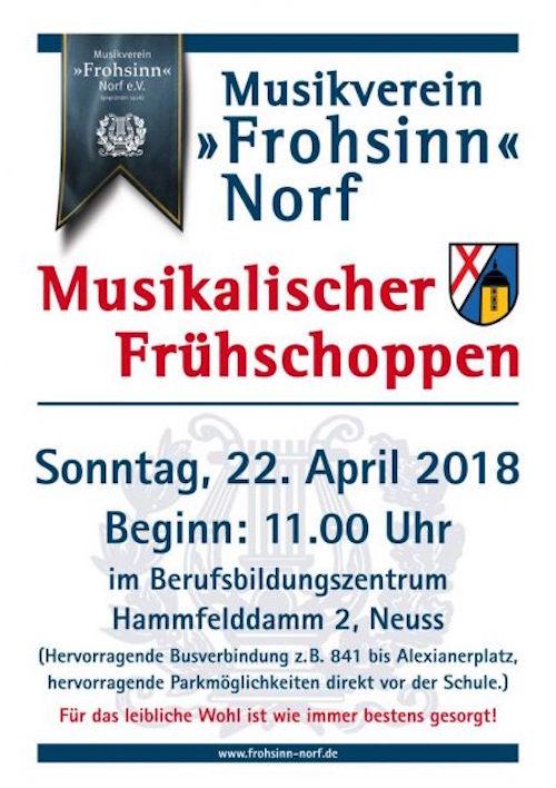 Hoetchesjonge Frohsinn Norf Frühschoppen 2018