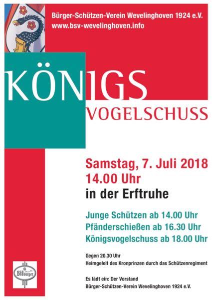 Hoetchesjonge BSV Königsvogelschuss 2018