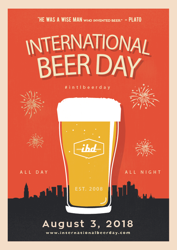 Hoetchesjonge International Beer Day Poster 2018