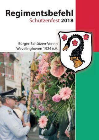 Regimentsbefehl 2018 Hoetchesjonge